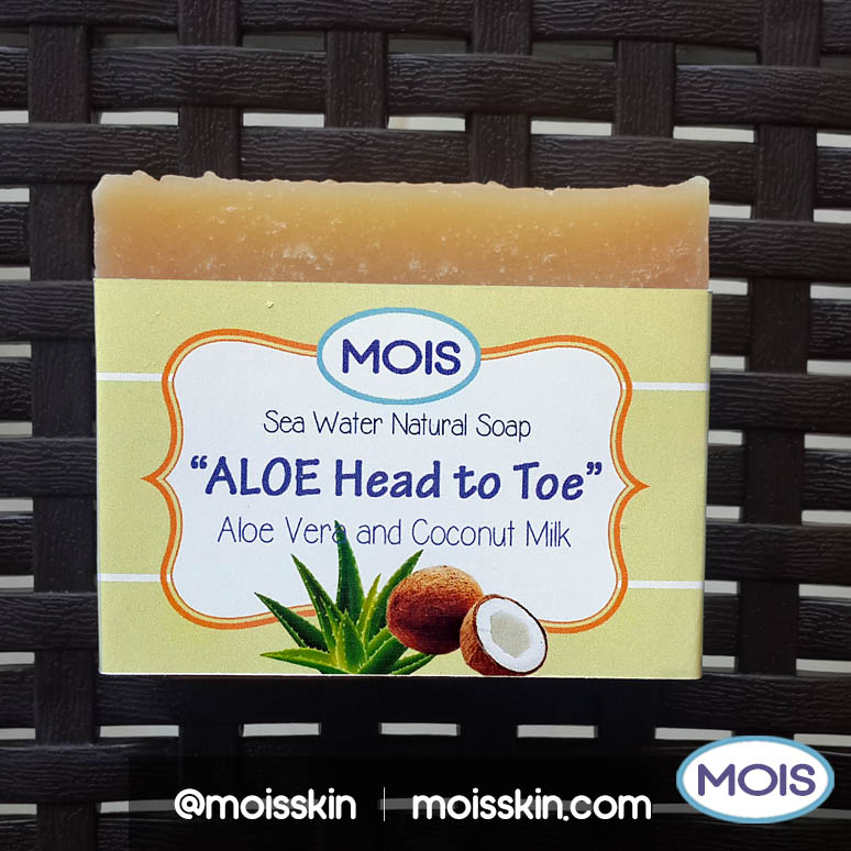 This soap-shampoo bar can be used for head-to-toe. It is safe for ultra-sensitive skin and moisturizing. Good for those who avoid over-the-counter SLS based hair shampoo.