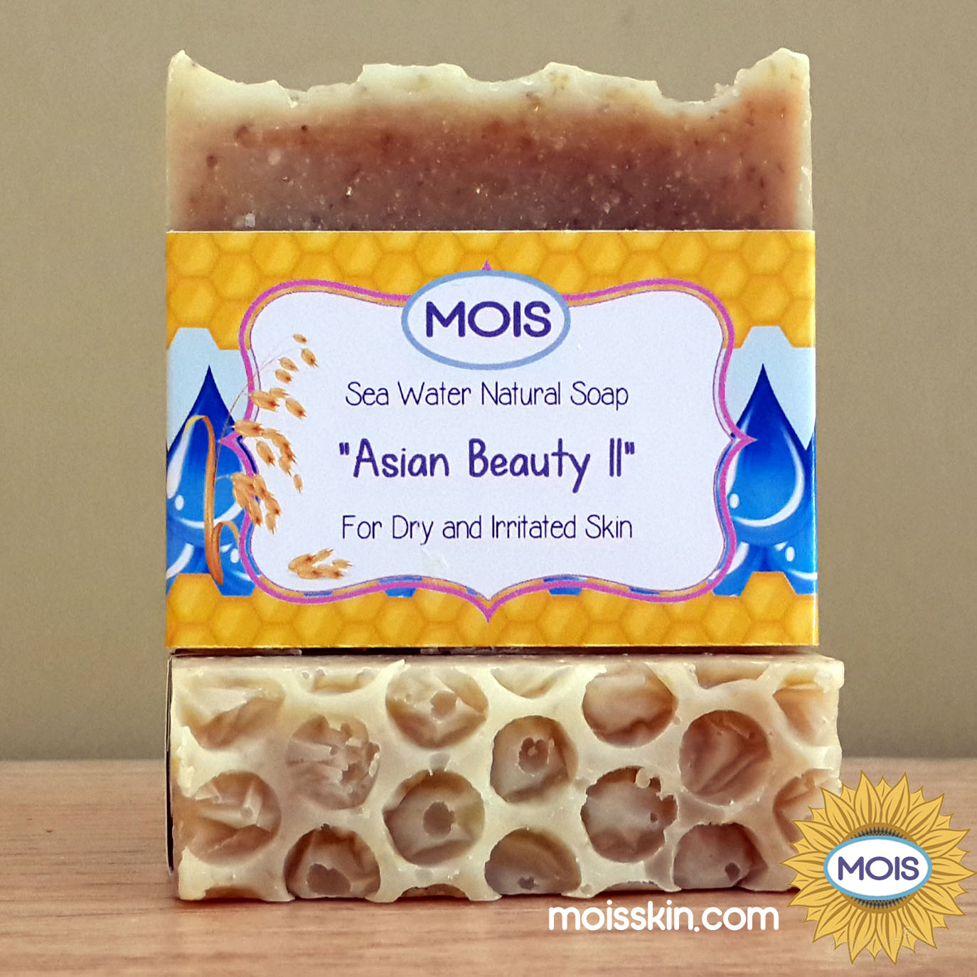 Made with extra moisturizer and honey, this soap is effective for moisturizing ultra dry skin.
