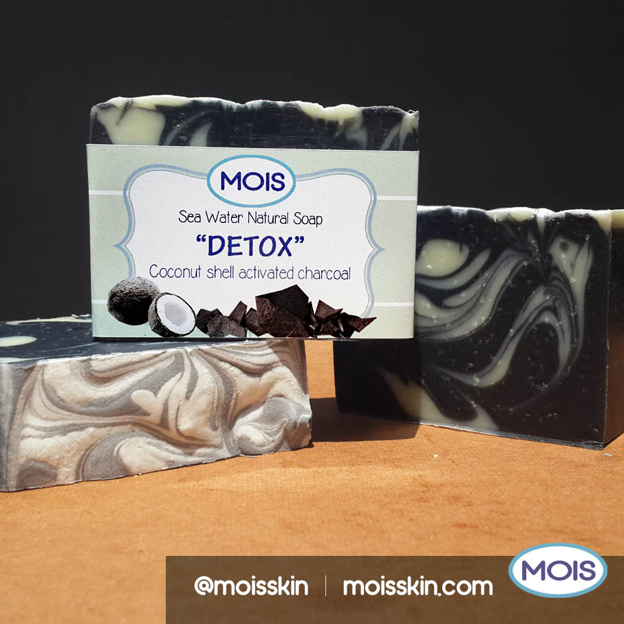 This soap is made from food grade black charcoal that is effective in treating acne.