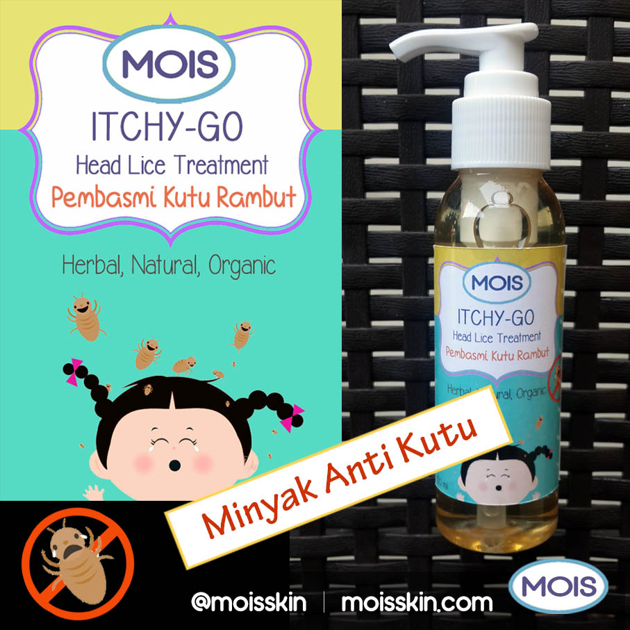 Special natural ingredient hair oil to combat head lice safely. No chemical stuff that will harm your hair and scalp. Safe for children and pregnant women. To be used in addition to the head lice shampoo bar for more effective head lice extermination.