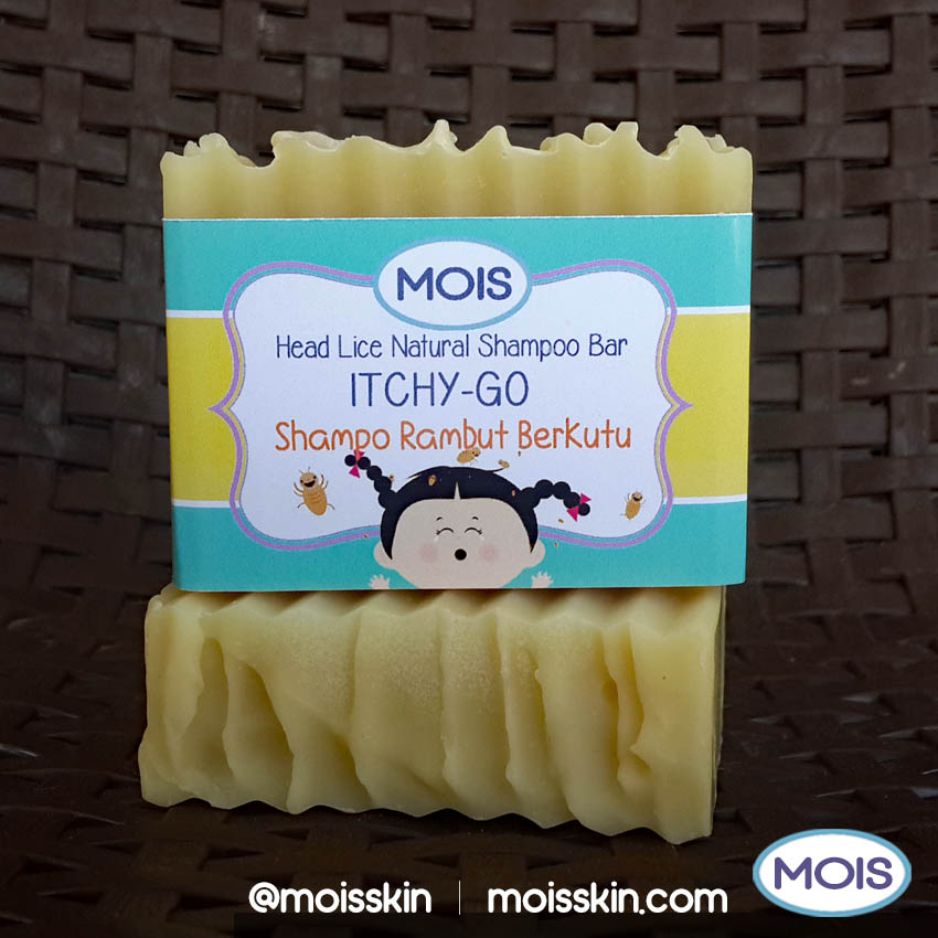 Special natural ingredient shampoo bar to combat head lice safely. No chemical stuff that will harm your hair and scalp. Safe for children and pregnant women.