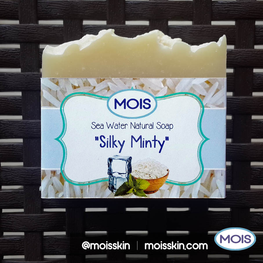 Silky Minty helps brighten your skin tone including your face area. It is one of our best selling soap and used by men and women.